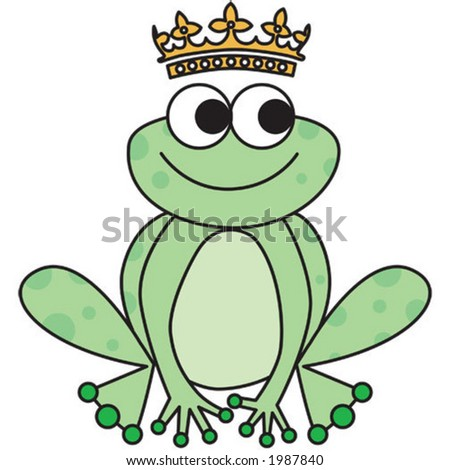 frog prince. Use just the frog, just the crown or both together.