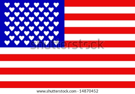 From America with love - vector-3 - stock vector