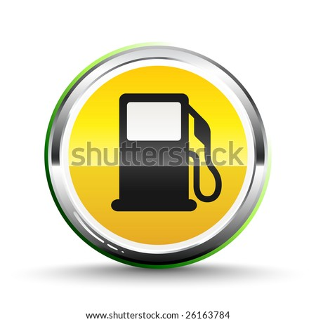 Fuel icon - stock vector