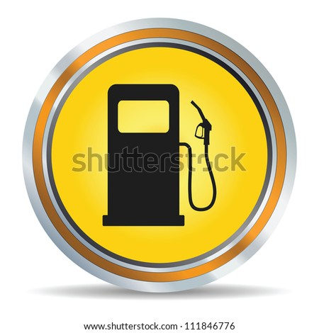 Fuel icon in vector - stock vector