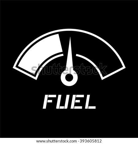 fuel indication - stock vector