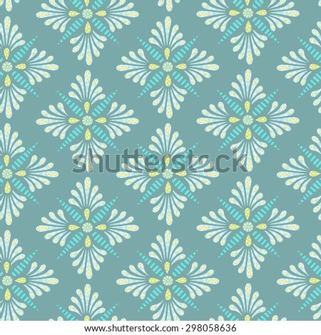 Fun and funky seamless background tile which uses a vintage element given a modern look.  This file is Vector EPS10 and uses a clipping mask.