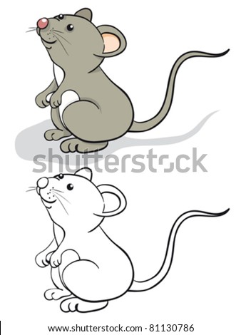 fun mouse color and contour