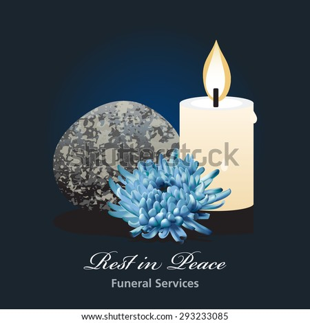 Funeral Ceremony Invitation Card Vector Template Stock Vector HD (Royalty  Free) 293233085   Shutterstock
