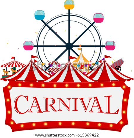 Carnival Tent Stock Images, Royalty-Free - 71.3KB