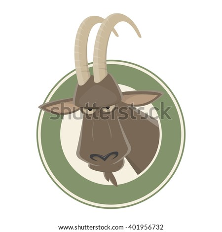 funny cartoon ibex