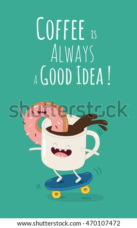 Donut Character Stock Images Royalty Free Images