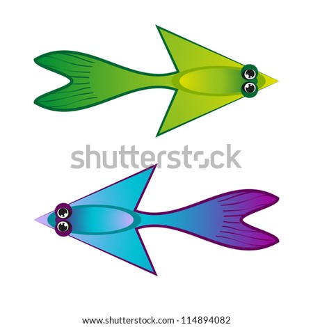 funny colorful arrows set - stock vector
