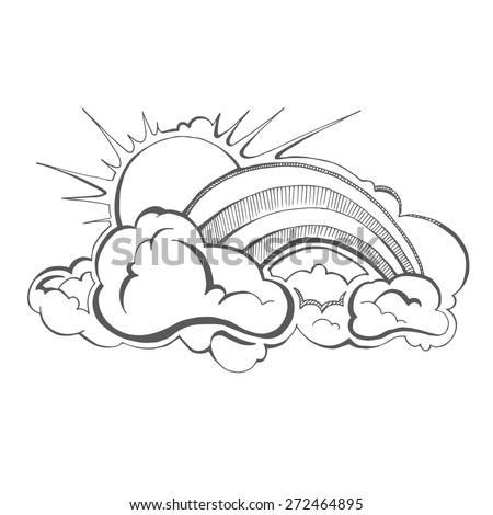 how to draw sun rays on illustrator