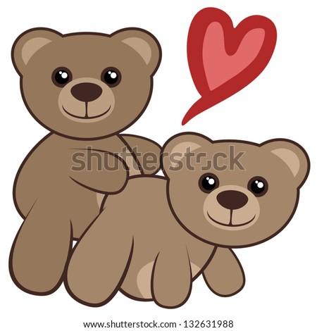 Toon bear sex