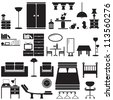 furniture - stock vector