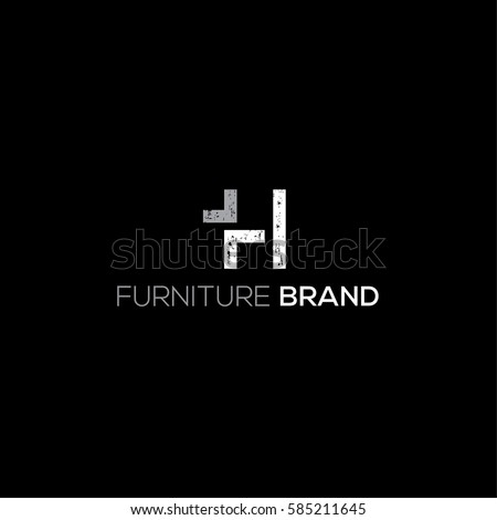Furniture And Interior Design Vector Logo Template