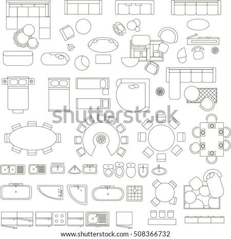 designer furniture stock vectors images vector art