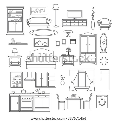 bedroom accessories stock vectors, images & vector art | shutterstock