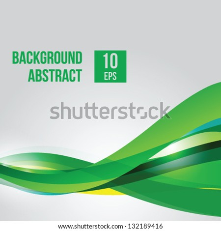 Futuristic abstract background - stock vector