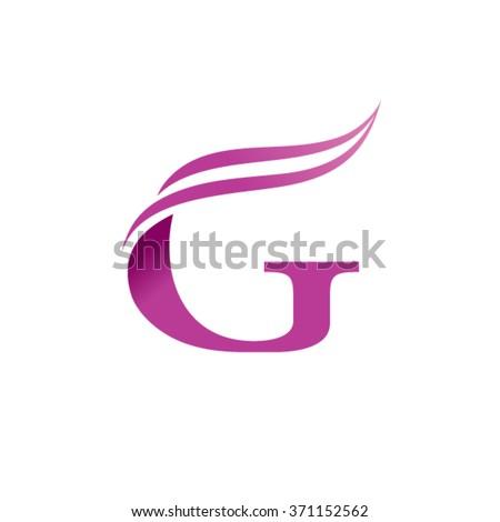 G Letter business logo design template - stock vector