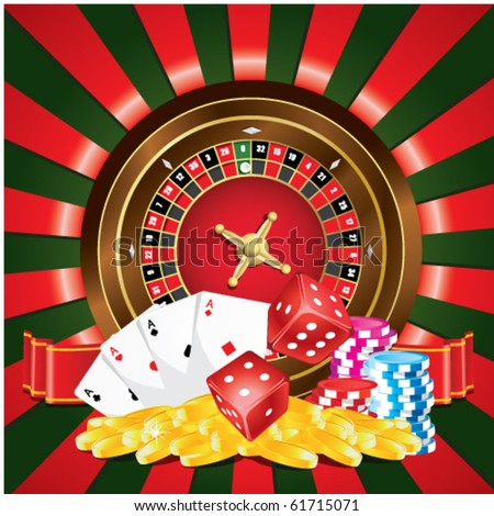 Gambling - stock vector