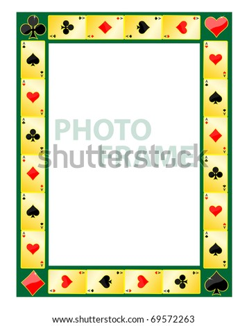 Gambling photo frame