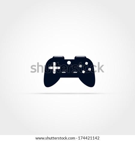 Game controller vector icon - stock vector