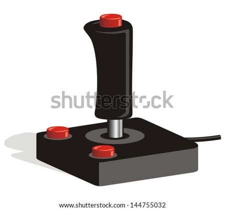 Game Joystick - stock vector