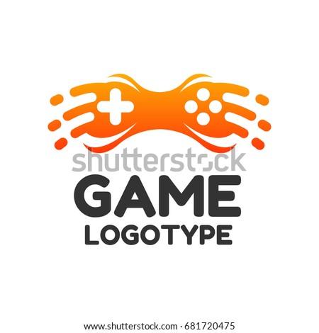 Game logo game icon logo design stock vector royalty free game logo game icon logo design video game concept joystick icon altavistaventures Images