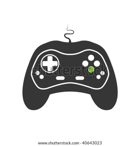 game pad - stock vector