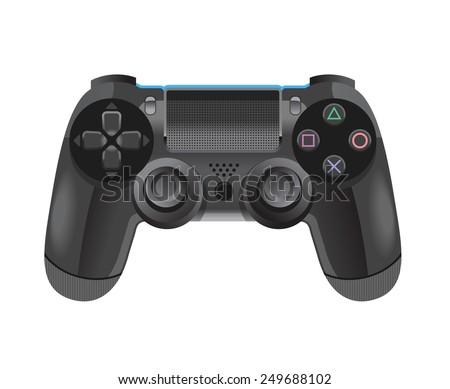 Gamepad vector illustration - stock vector