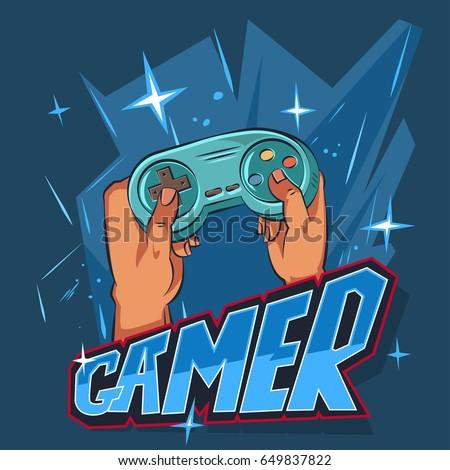 gamer logo stock images royaltyfree images amp vectors