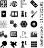 Games icons - stock vector