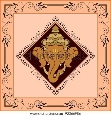 Ganesha - stock vector