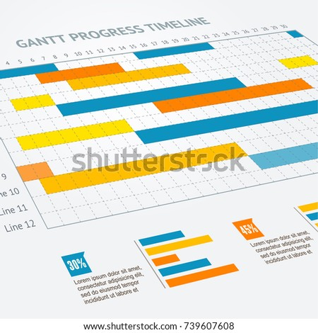 Gantt progress line business plan project stock vector 739607608 gantt progress line business plan project stock vector 739607608 shutterstock ccuart Images