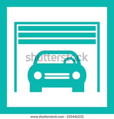 garage - stock vector