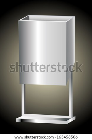 Garbage Cans  - stock vector
