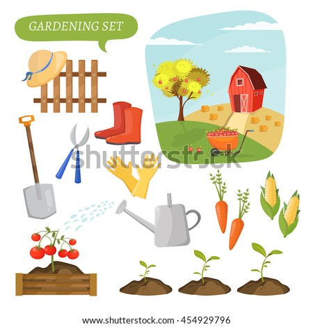 Stock images royalty free images vectors shutterstock for Different tools and equipment in horticulture