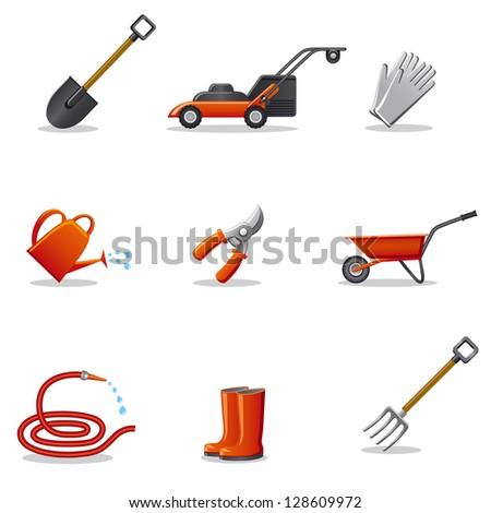 Garden hose stock photos images pictures shutterstock for Gardening equipment names