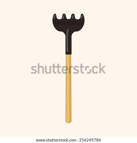 gardening tool theme elements - stock vector