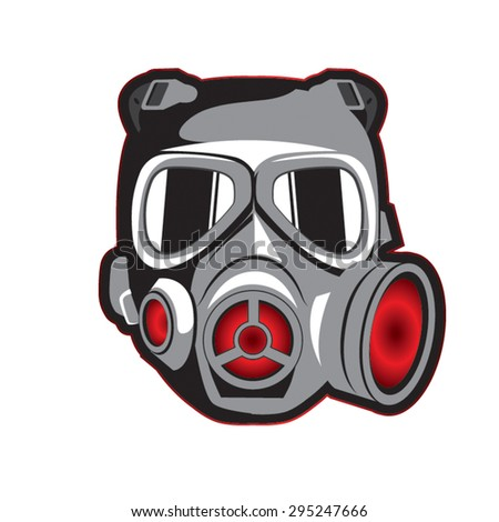 Self Portrait with Gas Mask by DQuinn89 on DeviantArt  |Funny Cartoon Gas Mask