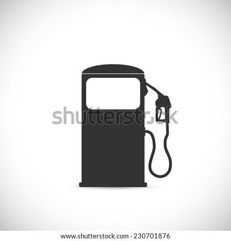 Gas Pump Illustration - stock vector