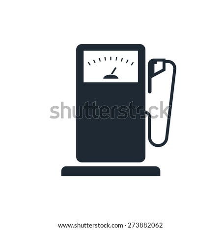 Gas Station sign icon - stock vector