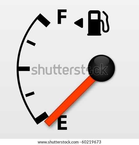 Gas Tank Illustration - stock vector