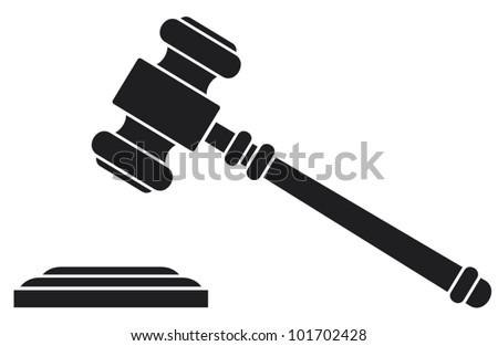 gavel hammer judge auctioneer stock vector 2018 101702428 rh shutterstock com gravel victoria texas gavel vector free download