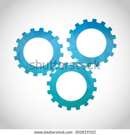 gears icon design, vector illustration eps10 graphic