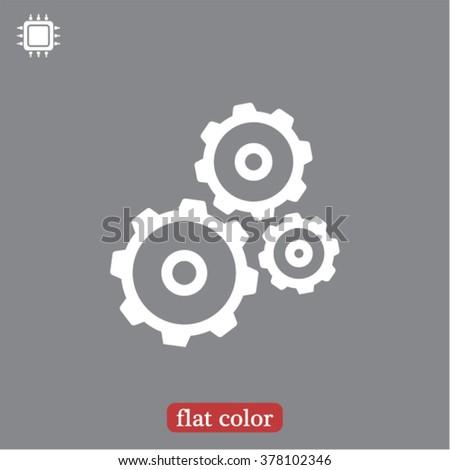 Gears   icon, gears   vector icon, gears   icon illustration, gears   icon eps, gears   icon jpeg, gears   icon picture, gears   flat icon, gears   icon design, gears   icon web, gears   icon art - stock vector
