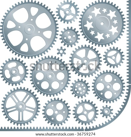 gears (vector set)