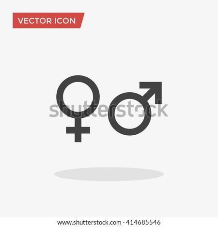 Gender Icon, Gender Icon Vector, Gender Icon Flat, Gender Icon Sign, Gender Icon App, Gender Icon UI, Gender Icon Art, Gender Icon Logo, Gender Icon Web, Gender Icon, Gender Icon JPG, Gender Icon EPS - stock vector