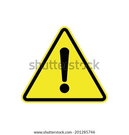 general warning sign - stock vector