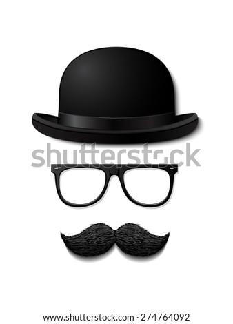 Gentleman vector illustration - stock vector