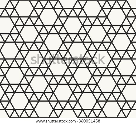 geo pattern archimedean tiling seamless geometric stock