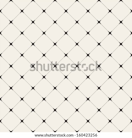 Geometrchesky seamless pattern with diagonal tile and intersecting lines