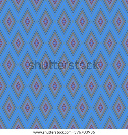 Geometric abstract decorative background - stock vector